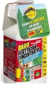 INSETTICIDA INSETTI E ZANZARE BADO CONCENTRATO LINFA DA 450 ML