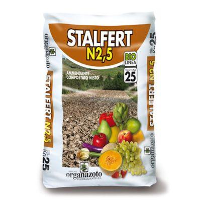 STALFERT N 2,5 BIO ORGANAZOTO DA 25 KG