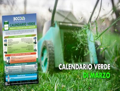 Calendario Verde di Marzo